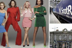 The Spice Girls are playing at BT Murrayfield on Saturday, June 8.