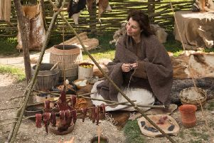 James Dilley of ancient craft UK will set up a Neolithic campsite