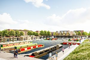 Winchburgh Developments Limited and Scottish Canals have released a brand-new CGI image revealing what the Winchburgh marina will look like.