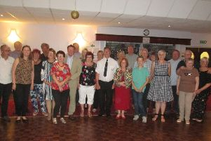 Danderhall and District Twinning Association with their friends from their twin town of Angres in Northern France.