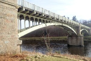 Park Bridge near Drumoak has been closed since February. Picture: Aberdeenshire Council