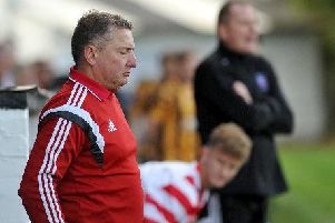 Lesmahagow Juniors gaffer Robert Irving