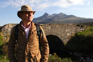 Paul Murton, star of BBC One's Grand Tours of Scotland, will be in Inverurie