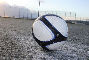 Frozen pitches were the order of the day last weekend