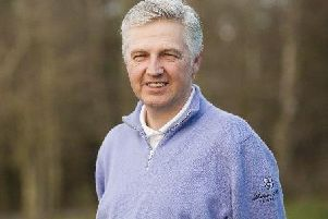 Alan White has been head professional at Lanark Golf Club for over 30 years