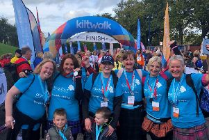 Kiltwalk participants are being offered free entry if they walk in aid of Aberlour ' Scotland's children's charity.