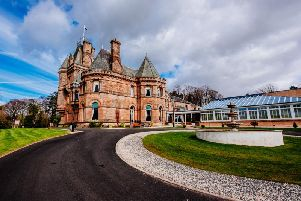 Biggars Cornhill Castle Hotel, in Coulter Road, is a four star venue nestled in the Scottish countryside (Pic courtesy of Cornhill Castle Hotel)