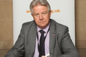 Bill Grant MP for Ayr, Carrick and Cumnock,signed the Holocaust Educational Trust's Book of Commitment.