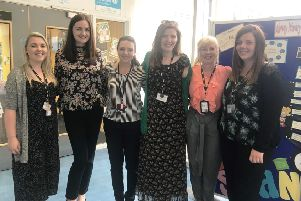 Pictured is the group of teachers who are heading to Malawi during their summer holiday to help to imrpove standards for primary pupils.