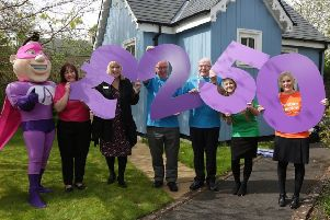 Th Health And Social Care Partnership handed over �250 to Ayrshire Hospice.