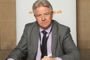 Bill Grant MP for Ayr, Carrick and Cumnock.