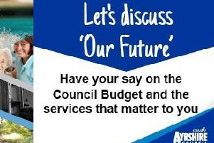 South Ayrshire Council wants to hear local residents priorities before finalising their 2019-20 budget.