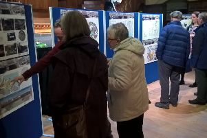 Views on Ayr High Street were collected at drop-in sessions held in Ayr Town Hall.