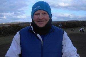 Richie Smith (pictured) came closest to matching Graham McArthur in the latest round of Bute Golf Club's Winter League
