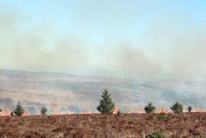 Scottish Fire & Rescue Service warned of the heightened risk of wild fires days, before the fire that took hold on five miles of hillside at Dalmellington.