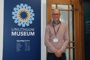 Stephen Balfour of Linlithgow Museum. Visit the museum's new website - www.linlithgowmuseum.org.