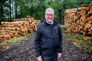 Fergus Ewing MSP 'Scottish Government's Cabinet Secretary for Rural Economy''. (Photo: Alan Peebles).
