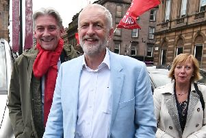 Jeremy Corbyn will be speaking in Kirkcaldy tomorrow.