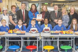West Lothian Council celebrates receiving Food for Life Served Here certification for its school meals
