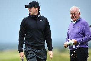 Rory McIlroy loved playing along with dad Gerry at the Dunhill, but admits he was frustrated with the test presented by the individual tournament.