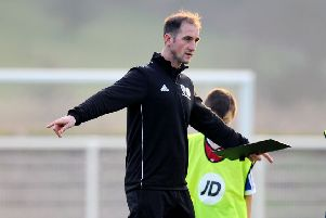 Mark Kerr has developed an excellent reputation as a young coach and has been handed the Ayr United job.