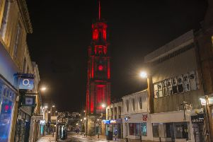 The Wallace Tower in Ayr