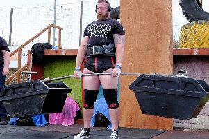 Cumbernauld's Scott Milne will compete for the title of the UK's Strongest Man (pic by AllSports Photography)