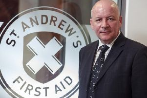 Event organiser Jim Dorman is a member of The Infiltrators as well as being operations and policy director with St Andrew's First Aid