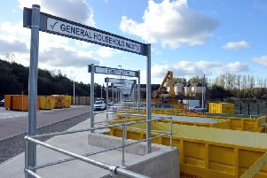 General household waste sent to Viridor's new facility at Dunbar is expected to power 39,000 houses a year, previously it would just have been sent to landfill