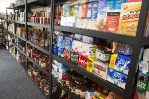 The shelves will soon be depleted as foodbank warns of a looming crisis  ahead if nothing is done now