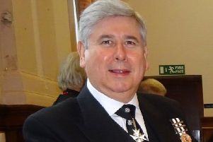 Jim Bingham will travel to London in September to be invested by the Duke of Gloucester