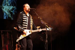Lead guitarist Phil Walker and his band will perform the hits of many great guitar heroes at Motherwell Concert Hall and Theatre.
