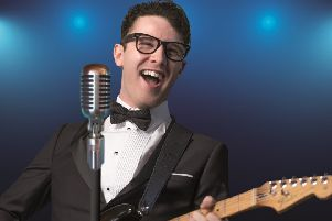 Buddy Holly and the Cricketers are playing Motherwell Concert Hall and Theatre on Saturday, February 9.