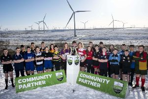 01/02/19'WHITELEES WINDFARM - RENFREWSHIRE'The launch of the Scottish Power Energy Networks Warriors Championship.