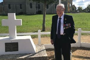 D-Day veteran Denis Gregson from North Lanarkshire is travelling to Farnce to take part in the 75th anniversary commemorations