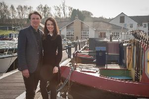 Ryan Barrie and Aisling Friel have reopened The Boathouse. Pic: Martin Gray