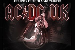 AC/DC UK are playing Motherwell Concert Hall this Saturday, March 16.