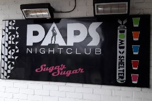 Paps nightclub in Cumbernauld