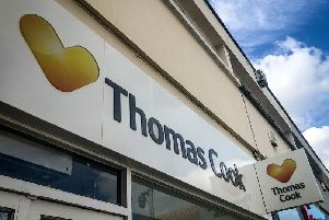 21 Thomas Cook stores will close across the UK.