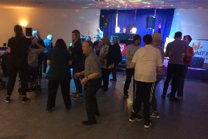 An eclectic mix of music was provided by DJ Steven Murray of Cumbernauld FM at the first Cornerstone Tea Dance