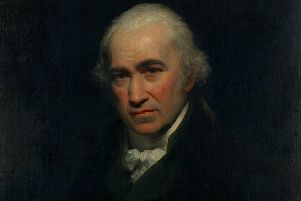 Sir William Beechey's portrait of Watt can be viewed at Heriot Watt University in Edinburgh, which is partly named in his honour. (Pic: Information Services, Heriot Watt University)