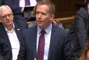 Cumbernauld, Kilsyth and Kirkintilloch East MP Stuart McDonald addresses the House of Commons