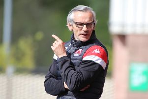 Danny Lennon has signed a new two-year deal as Clyde manager (pic courtesy of Craig Black Photography)