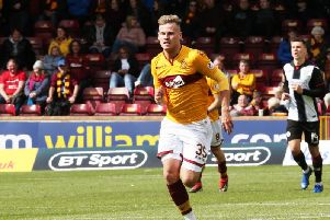 James Scott is keeping Curtis Main, Conor Sammon and Danny Johnson out of starting team (Pic by Ian McFadyen)