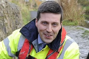 Jamie Hepburn has no issue with Tannochside Information and Advice Centre being funded, he just believes Cumbernauld Poverty Action should be treated the same