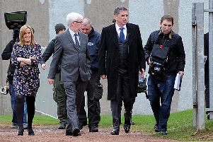 Craig Ferguson filming at Cumbernauld High back in 2012