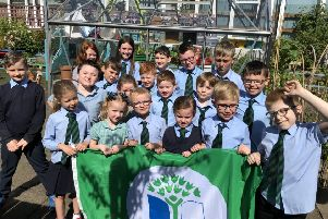 St Lucy's Primary and Nursery Class has been awarded a fourth Green Flag