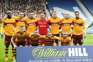To illustrate the changing face of Motherwell, only Trevor Carson, Charles Dunne, Allan Campbell, Richard Tait and Liam Grimshaw (pictured before the William Hill Scottish Cup semi-final against Aberdeen in April 2018) will definitely still be Motherwell FC employees from June 1.