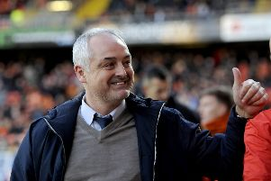 Ray mcKinnon is taking his Bairns back to his old club, Brechin. Picture Michael Gillen