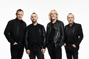Wet Wet Wet who are headlining Party at the Palace 2019